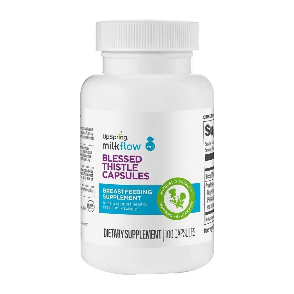 Milkflow Blessed Thistle Capsules - 100 Count