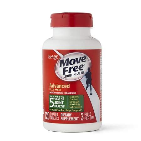 Move Free Advanced Plus MSM with Glucosamine & Chondroitin