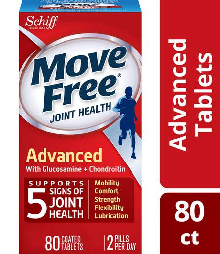 Move Free Advanced Tablets with Glucosamine & Chondroitin Joint