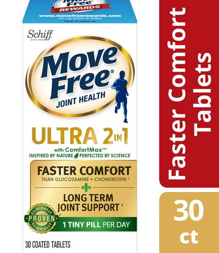 Move Free Ultra Faster Comfort Joint Supplements
