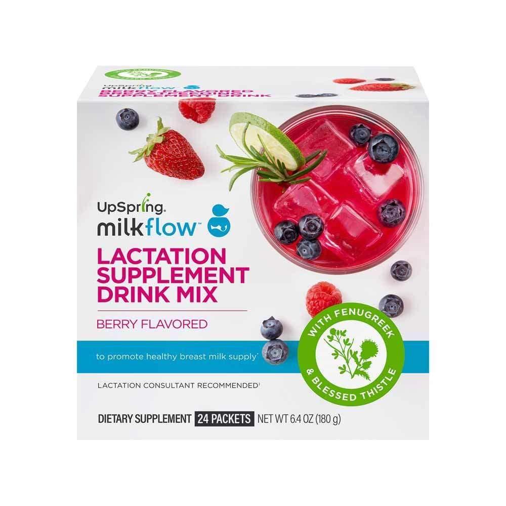 Milkflow Fenugreek + Blessed Thistle Powder Drink Mix, 24 Count