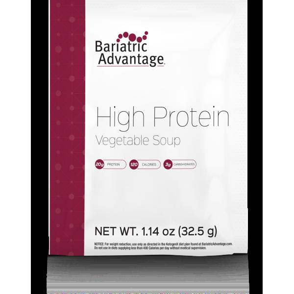 High Protein Vegetable Soup (Porção Única)