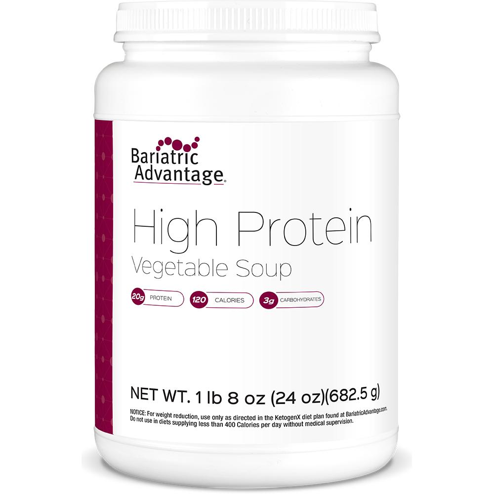 High Protein Vegetable Soup (Serve 21 Porções)