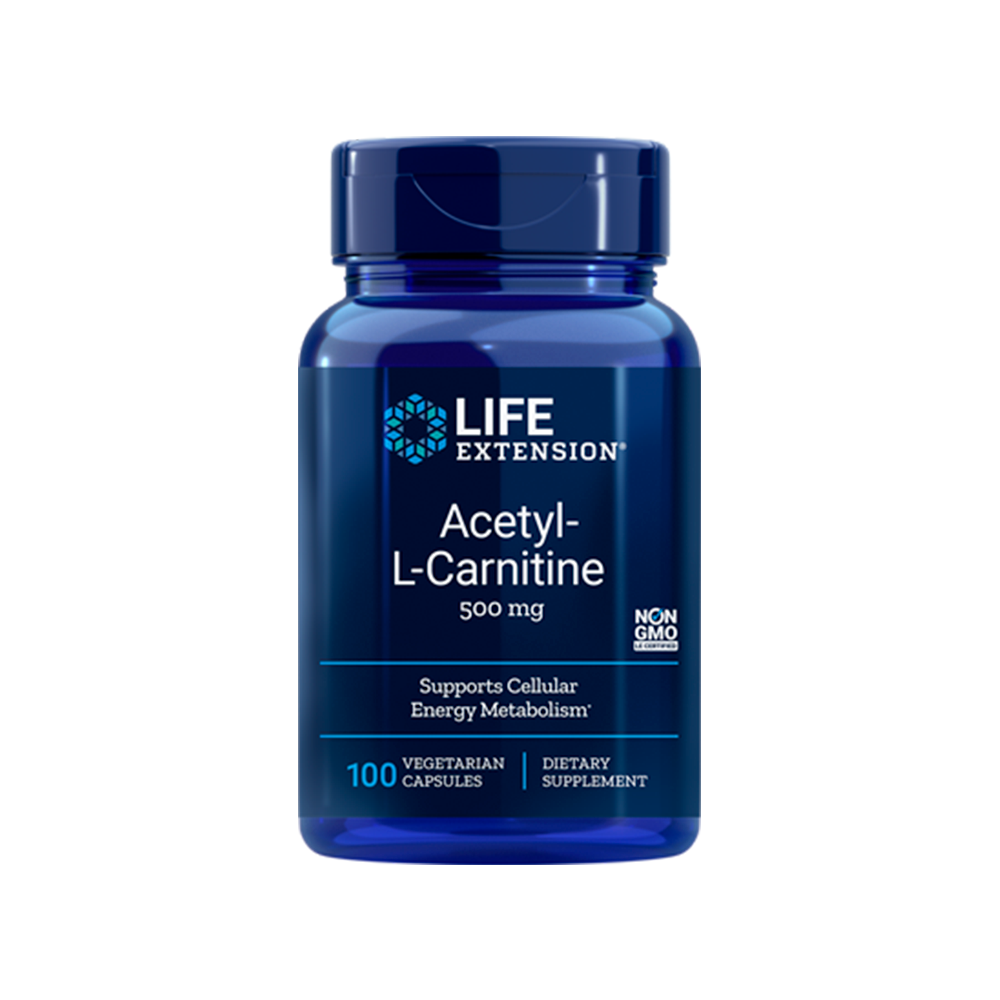 Acetyl-L-Carnitine 500 mg - 100caps