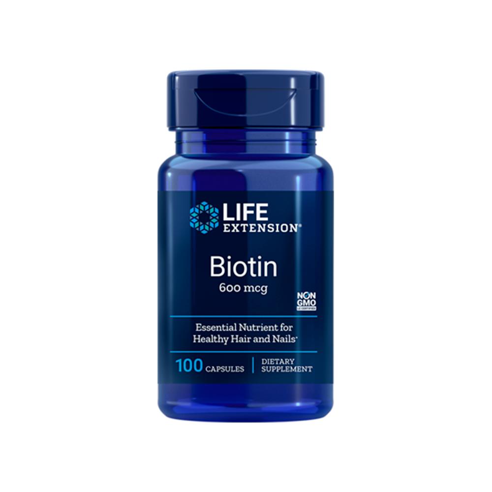 Biotin 600 mcg - 100caps