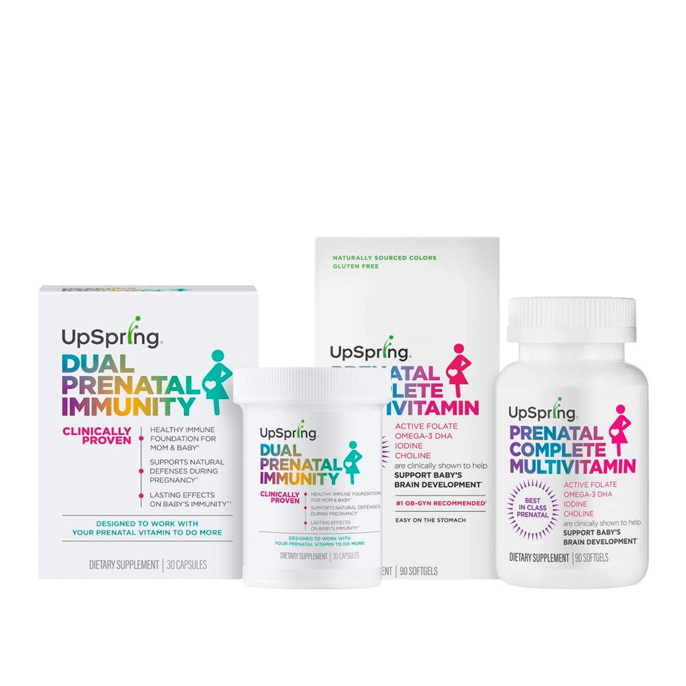 Kit Dual Prenatal Immunity + Prenatal Complete Multivitamin Softgel