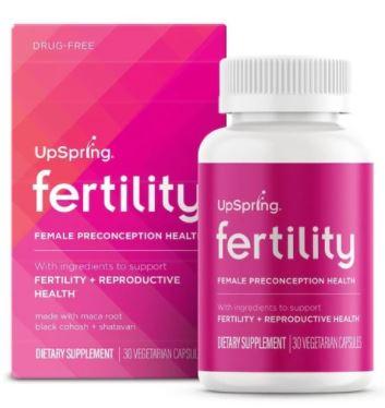 UpSpring Fertility for Women Capsules