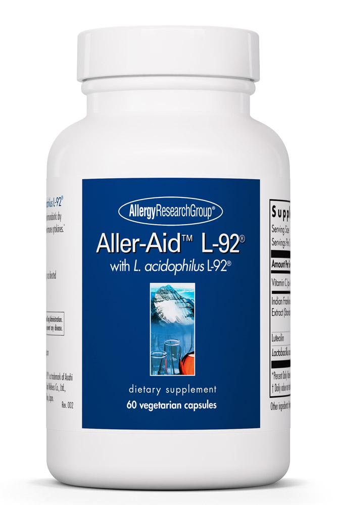 Aller-Aid™ L-92® 60 Vegetarian Capsules