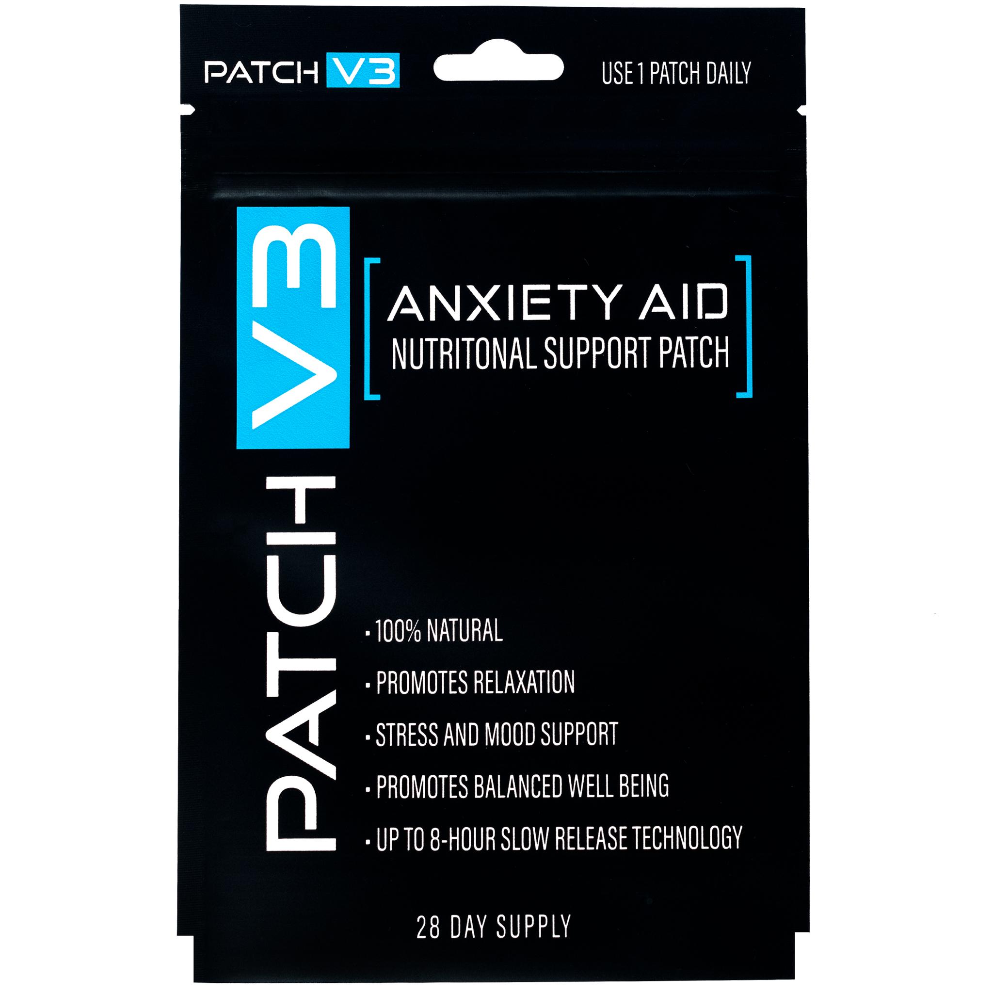 Anxiety Vitamin Patches (Adesivos de vitaminas para ansiedade)