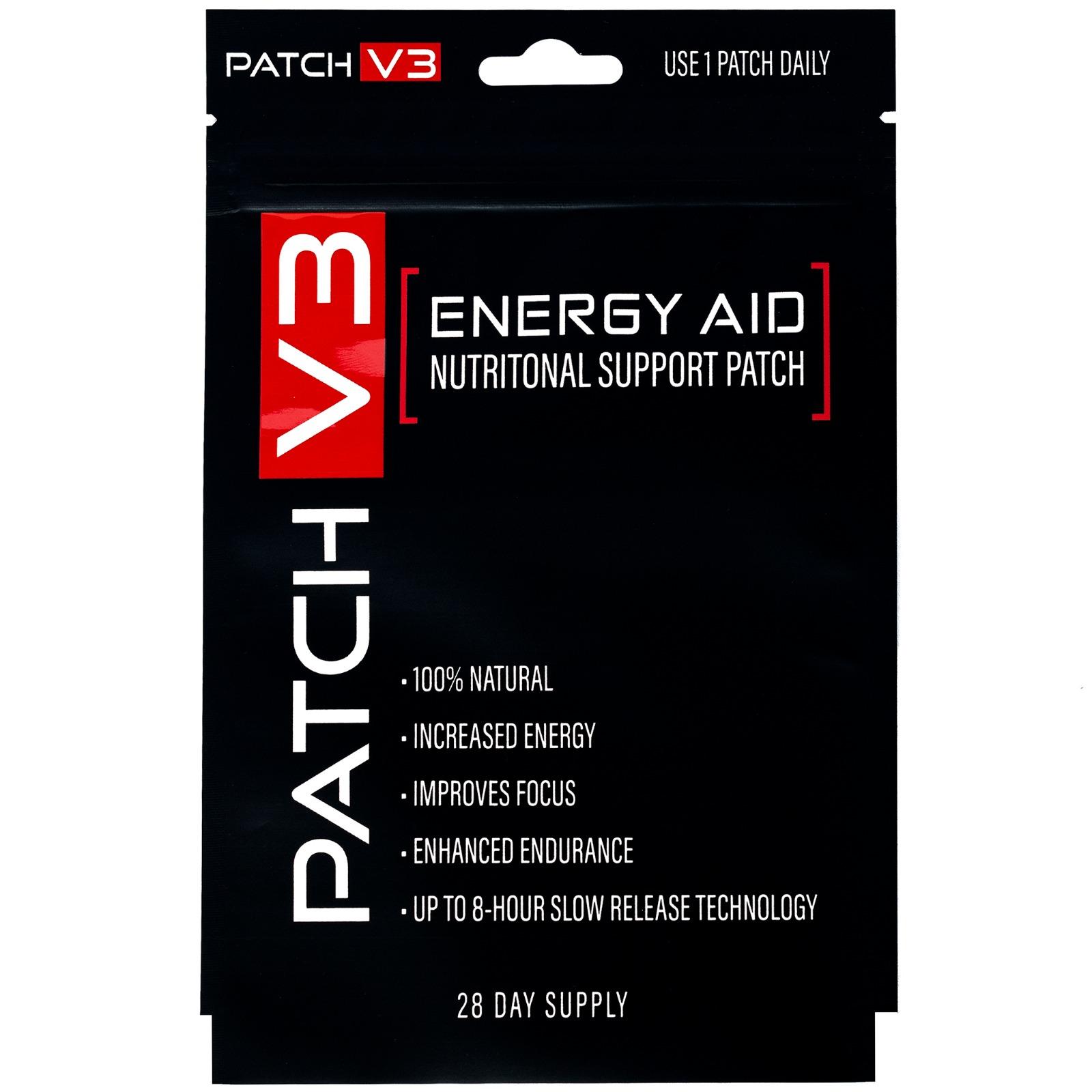Energy Vitamin Patches (Adesivos de vitaminas para Energia)