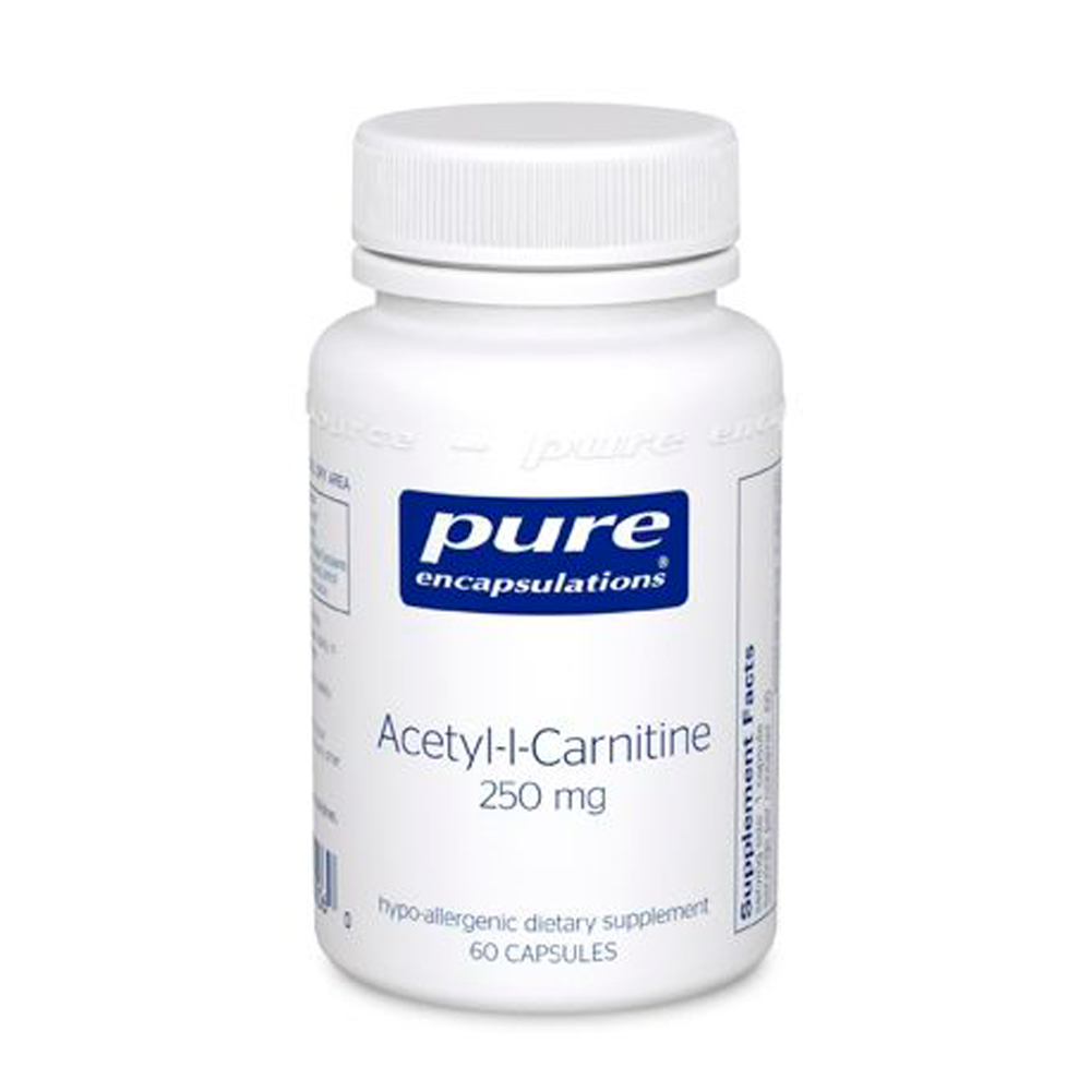 Acetyl-l-Carnitine 250 mg 60's