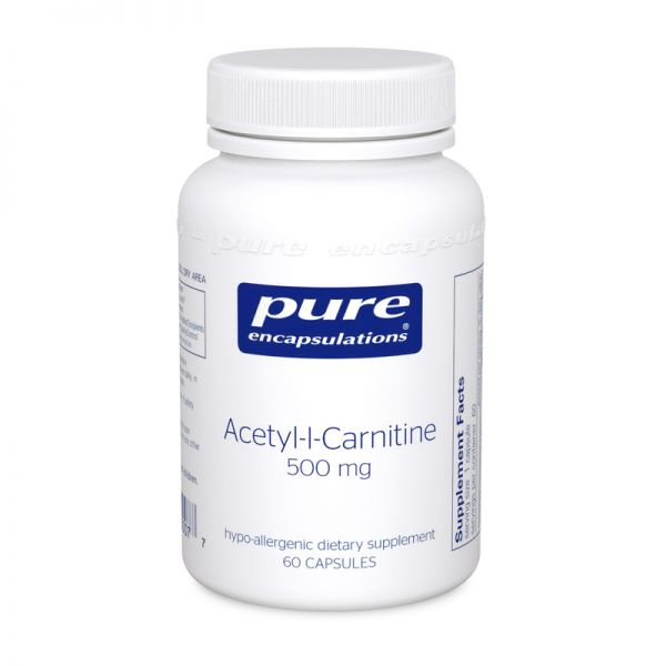 Acetyl-l-Carnitine 500 mg 60's