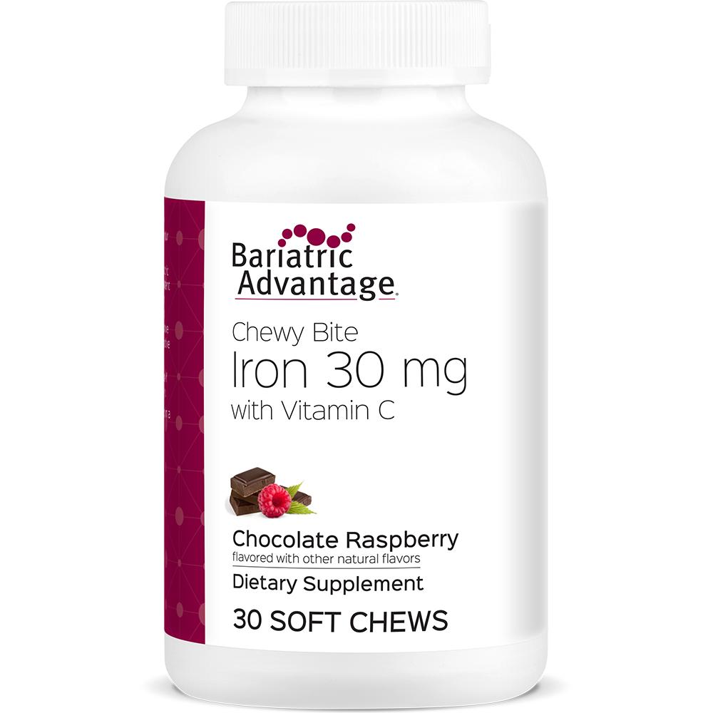 Chocolate Raspberry Iron Chewy Bite
