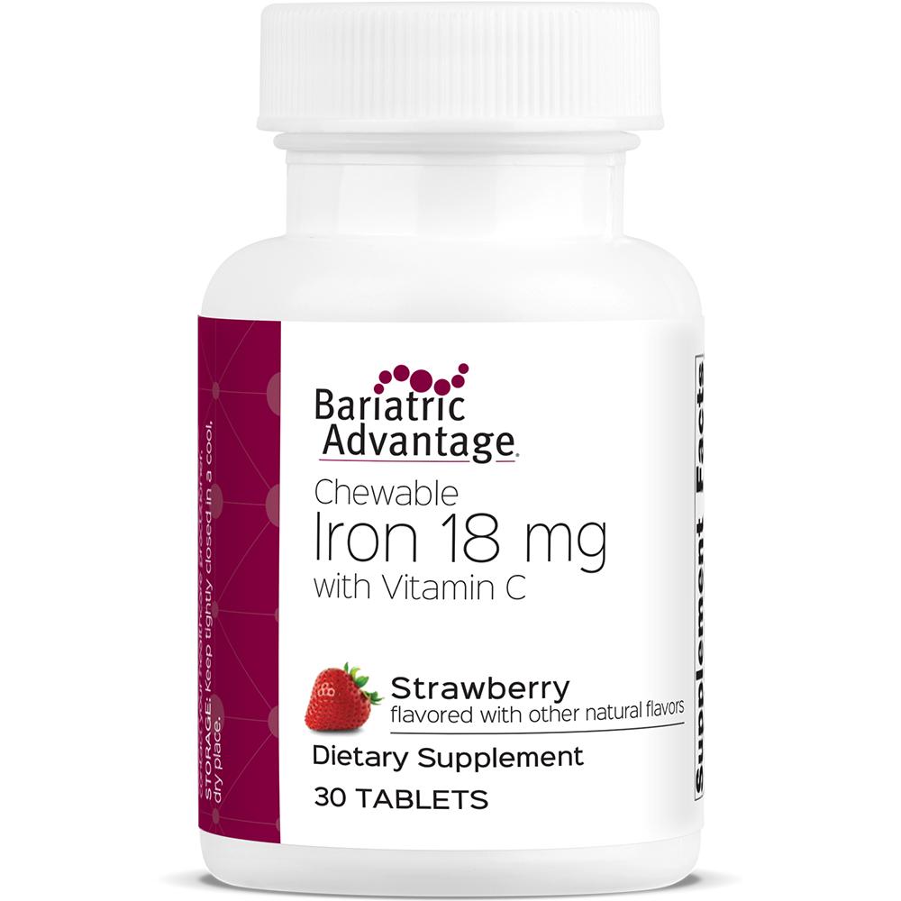 Strawberry Chewable Iron 18mg