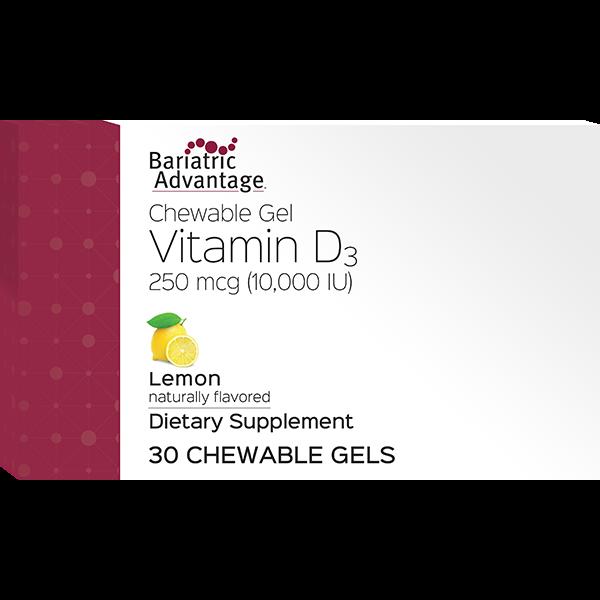 Vitamin D3 Gels 10000 IU